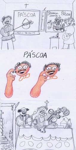 Desenho sobre a Páscoa