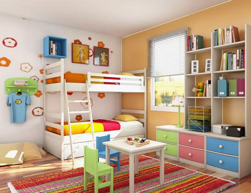 quartos juvenis-decoração e ideias