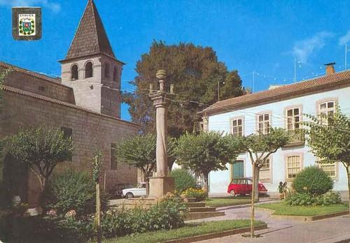 Vista da Igreja Matriz a partir do Pelourinho, Chaves