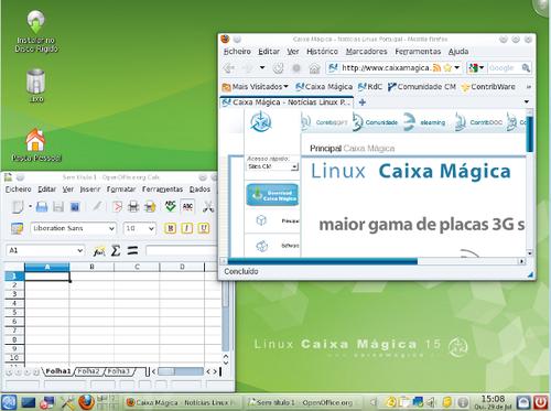 Caixa Mágica KDE4 Live CD
