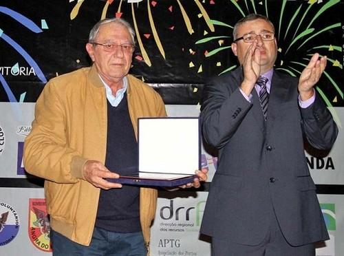 Luís Louro homenageado na Gala de Ralis da Terceira...