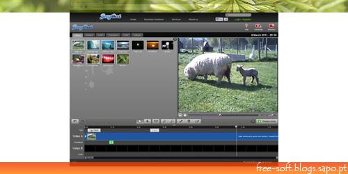Editor de vídeo online - JayCut