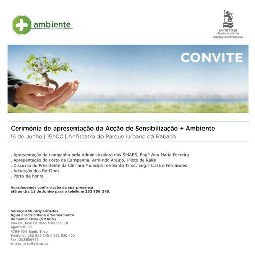 Acção de Sensibilização + Ambiente