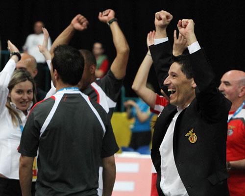 André Lima - Treinador de futsal do BENFICA