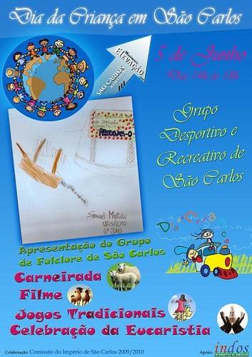 O Dia da Criança, comemorado hoje em São Carlos...