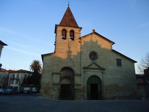 Aspecto frontal da Igreja Matriz