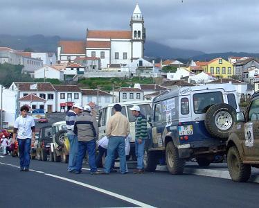 Uma das paragens do Passeio TT Abílio Rocha...