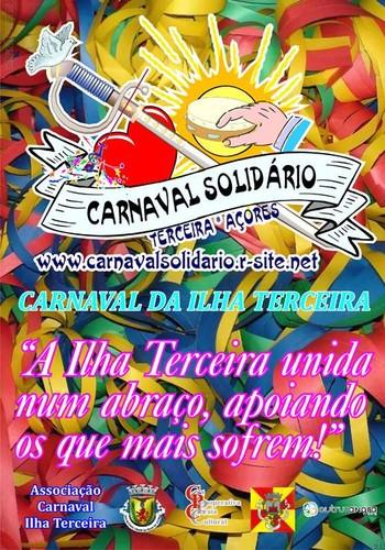 Carnaval solidário novamente na Terceira...