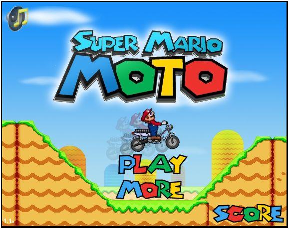 jogo super mario moto