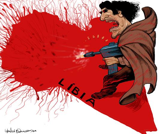O massacre na Líbia