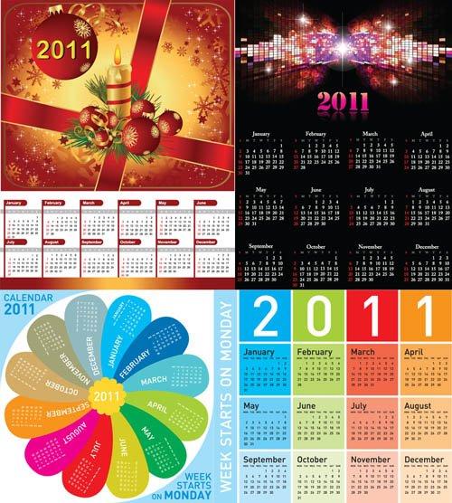 calendários 2011