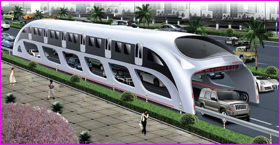 autocarro-comboio chinês