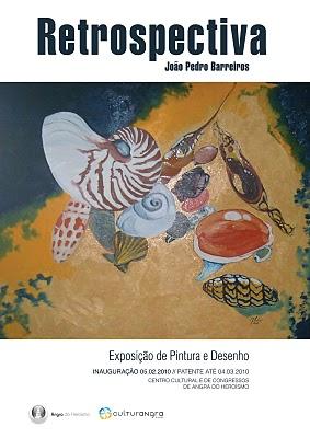 Exposição de Pintura de João Pedro Barreiros. Inaugura-se hoje, no Centro Cultural e de Congressos de Angra do Heroísmo...