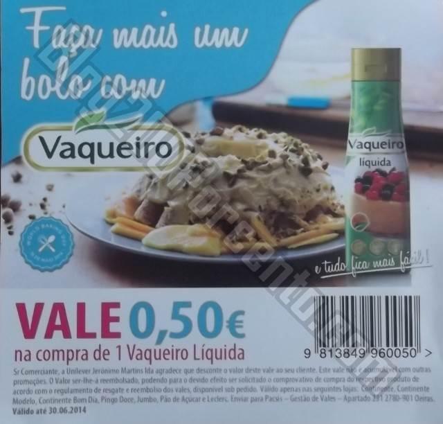 Novo vale de desconto | VAQUEIRO | Avistado até 30 de junho
