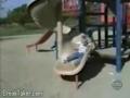 Aventuras no parque infantil