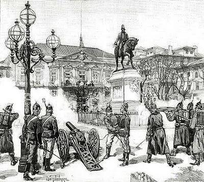 Revolta do 31 de Janeiro de 1891 no Porto.