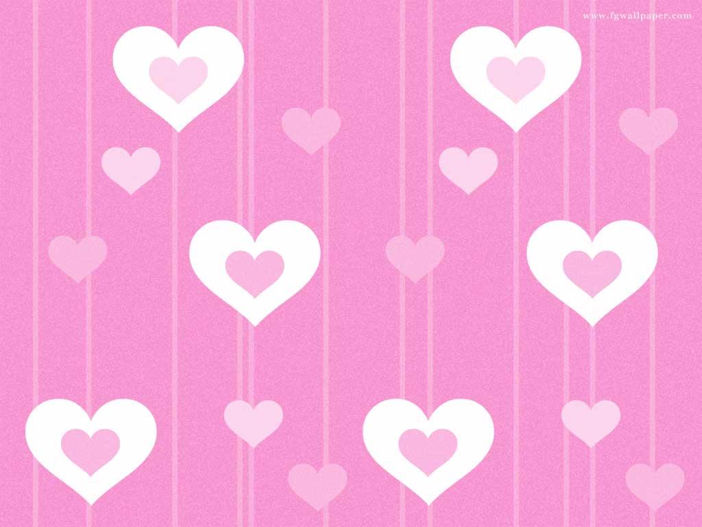Fundos com corações - papel de parede para pc