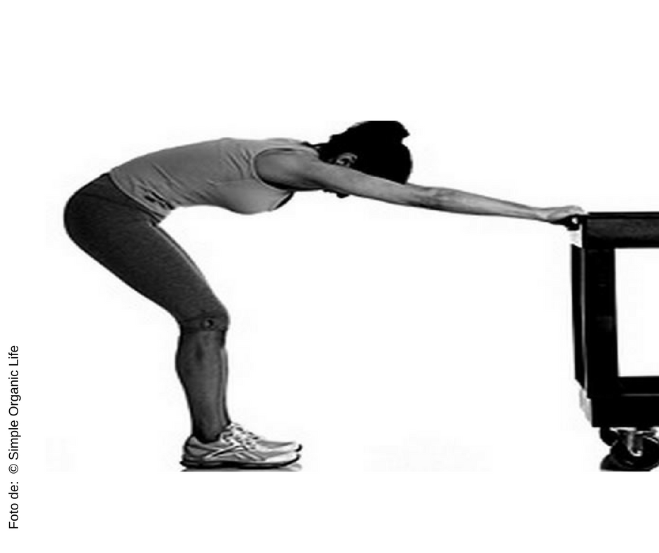 Mantenha essa posição por 30 segundos e, em seguida, tente o seguinte: