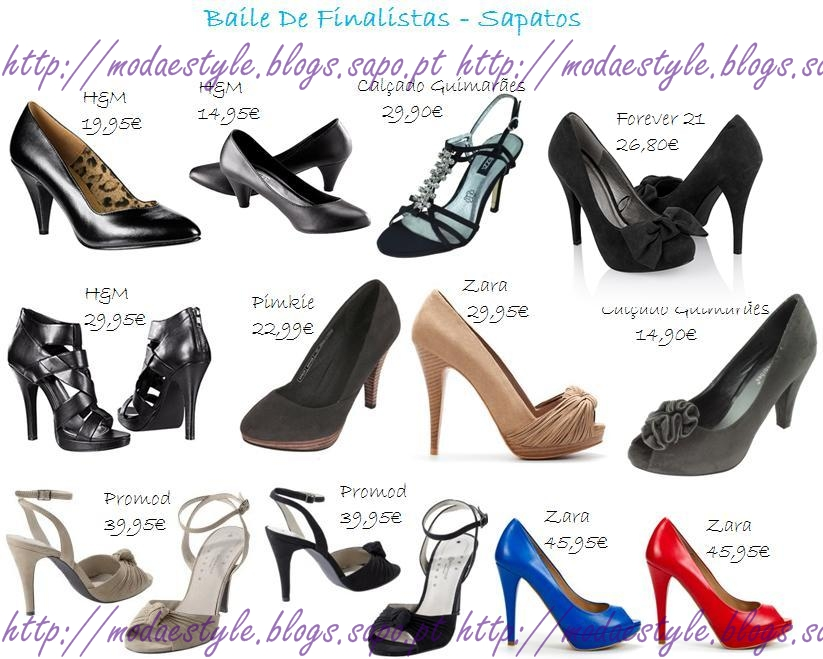 acessorios mas e sapatos
