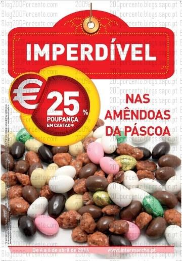 25% desconto   INTERMARCHÉ   Fim de semana - Amendoas