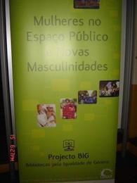 Bibliotecas pela Igualdade deGénero - exposição itinerante