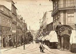 A Rua de Santo António em finais do século XIX