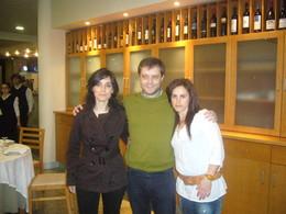 Jantar - Andreia, Pedro e Dora