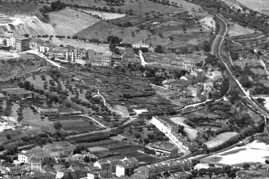Vista aérea do Casal do Pinto e adjacências, Lisboa (Mário de Oliveira, 195...)
