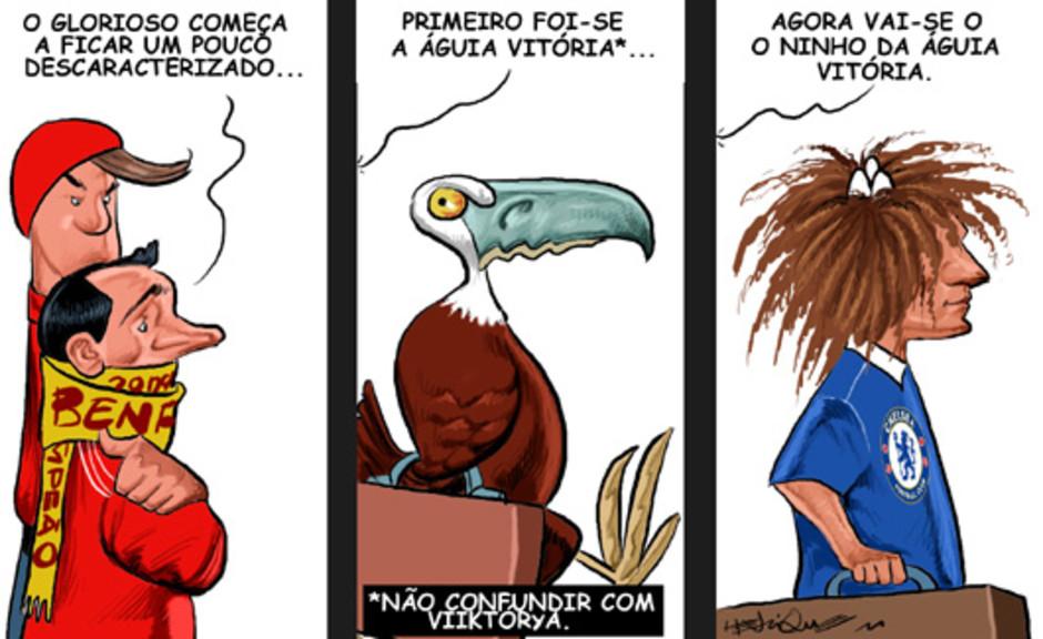 Debandada no Benfica